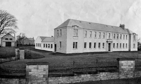 Main Building At East Craigs Farm Site c.1932