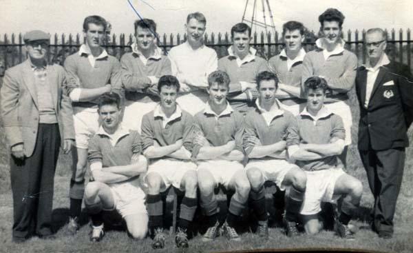 Edinburgh Rangers Football Club Team 1960-61