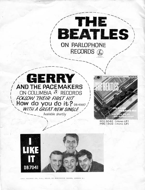 Beatles Programme From 1963