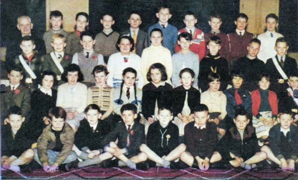 Bonnington Road Primary School Class 1956