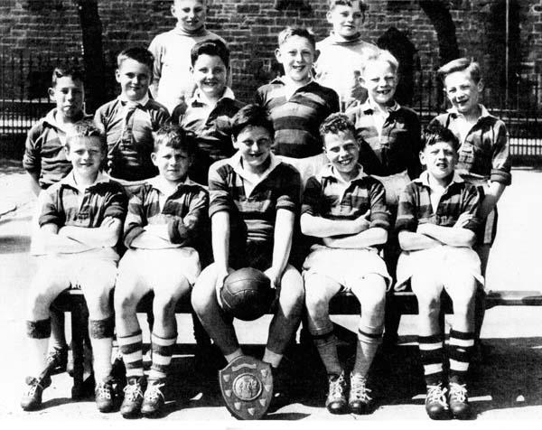 Bonnington Road School Football Team, mid-1950s