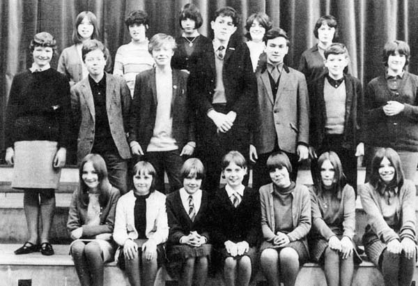 James Clark Secondary School Class Portrait, mid-1960s