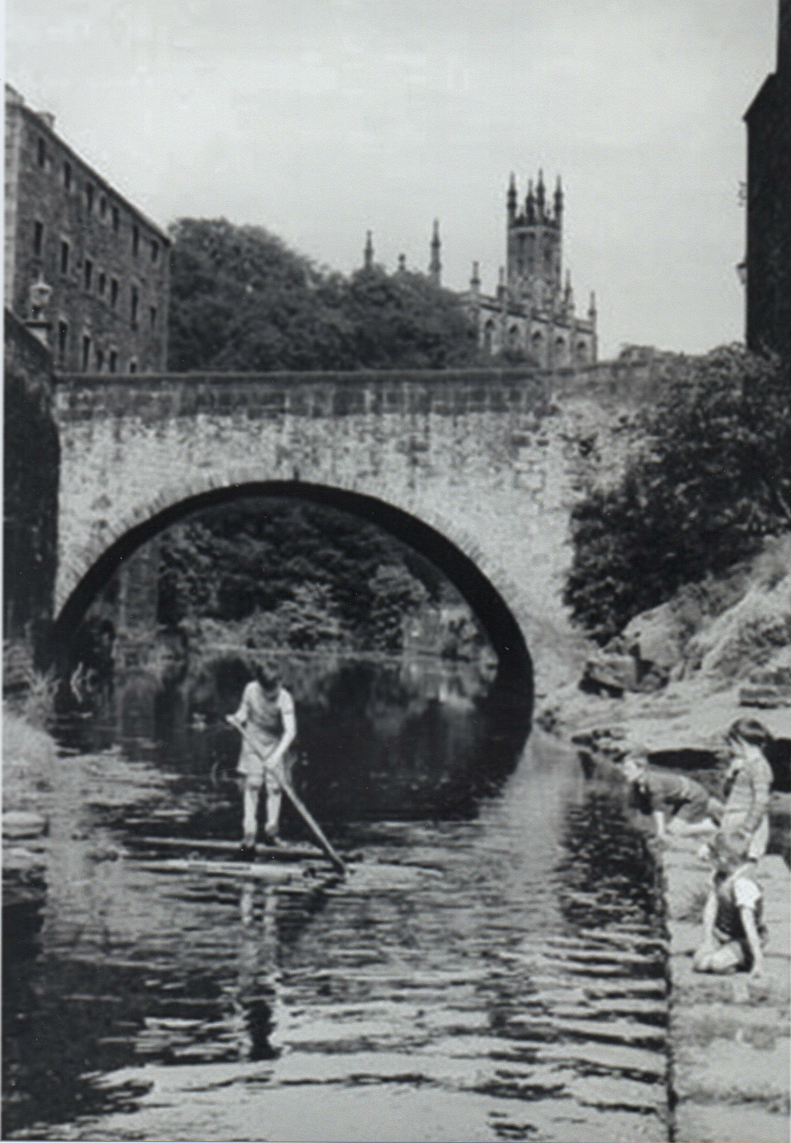 Alastair W. Forbes  on the Water of Leith