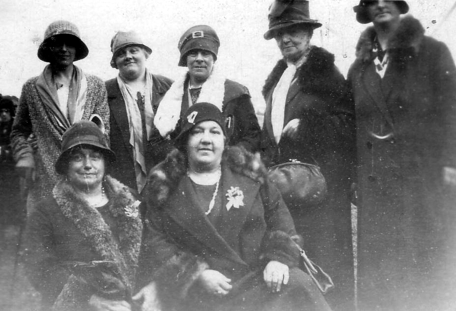 Group Of Ladies In Hats 1925