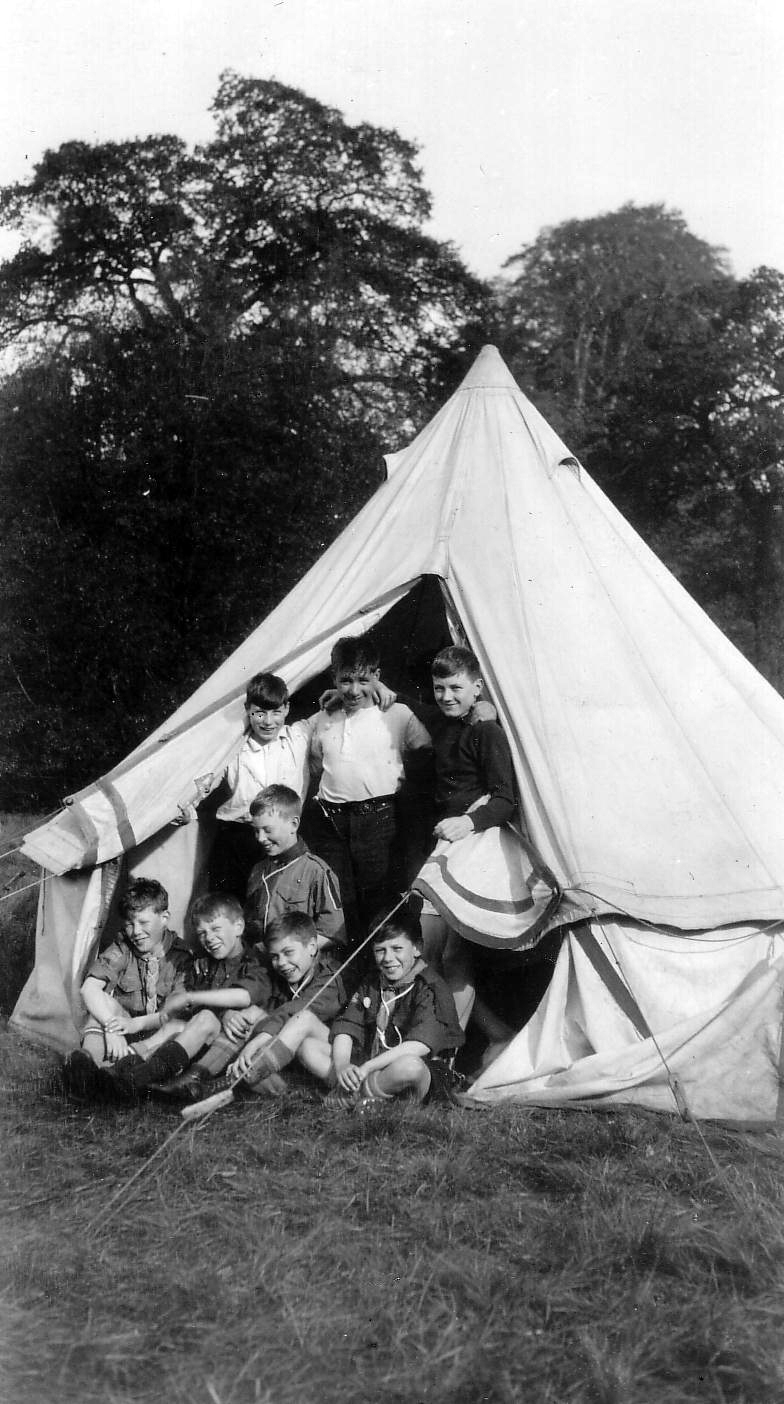 6th Leith (Newhaven) Scouts On Camp 1932