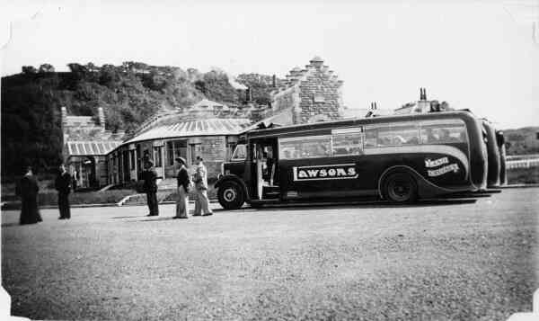 On The Way To The Glasgow Empire Exhibition 1938