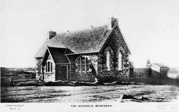 The Schoolhouse At Bunessan 1930s