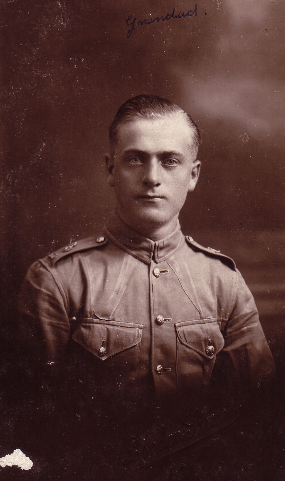 Studio Portrait Soldier, 11th May 1924