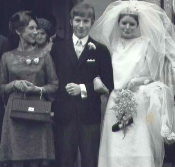 Alastair W. Forbes Wedding Day