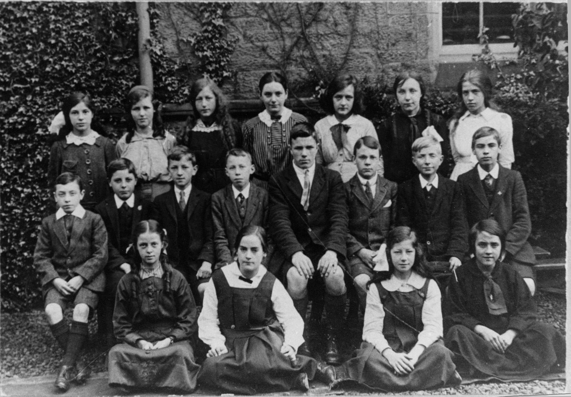 Portobello High School Class 2A 1916