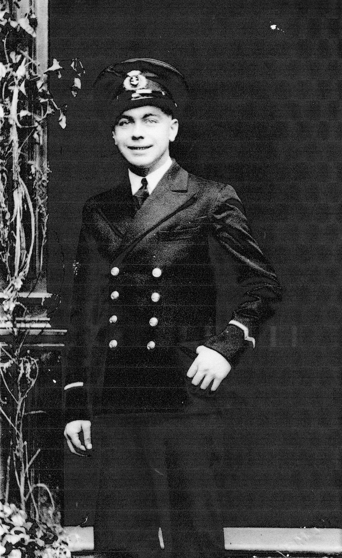 Studio Portrait Merchant Seaman c.1941
