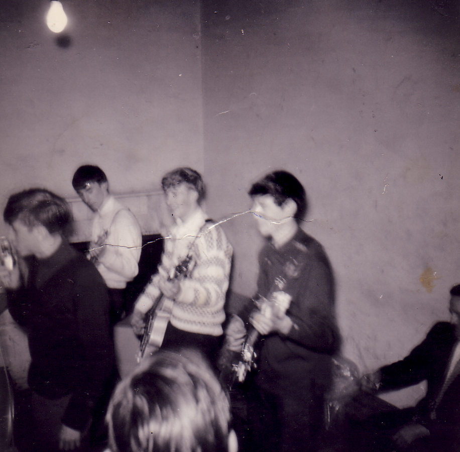 Practice Session At The Scout 'Gang Hut' Dumbiedykes c.1962
