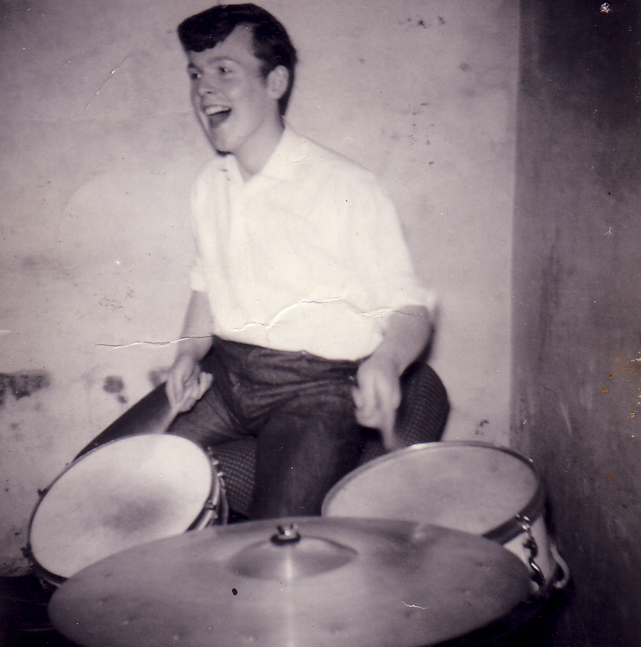 Practice Session In The Scout 'Gang Hut' Dumbiedykes c.1962