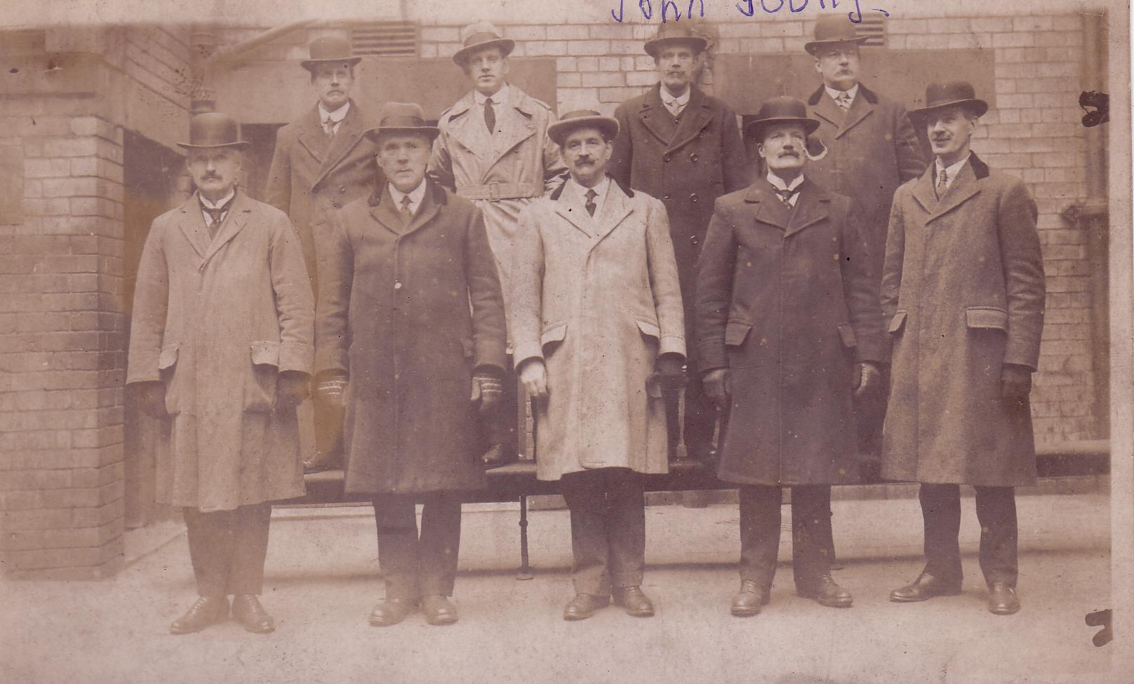 Group Portrait Glasgow CID c.1930