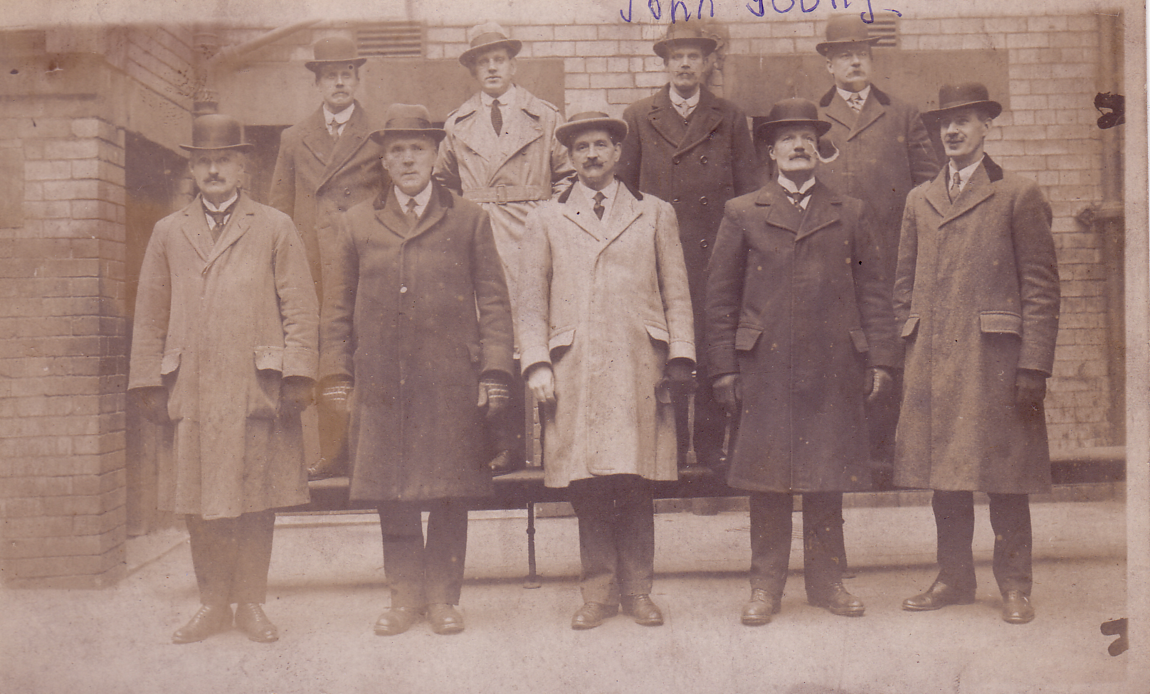 Group Portrait Glasgow CID Officers c.1930