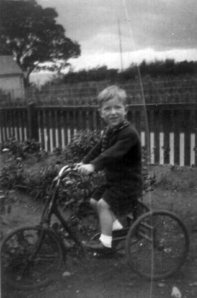 Boy On Tricycle c.1950