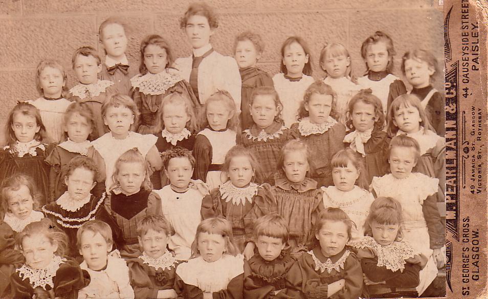 School Class Portrait 1890s