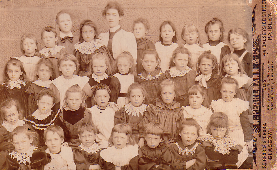 Unknown School Class Portrait 1890s