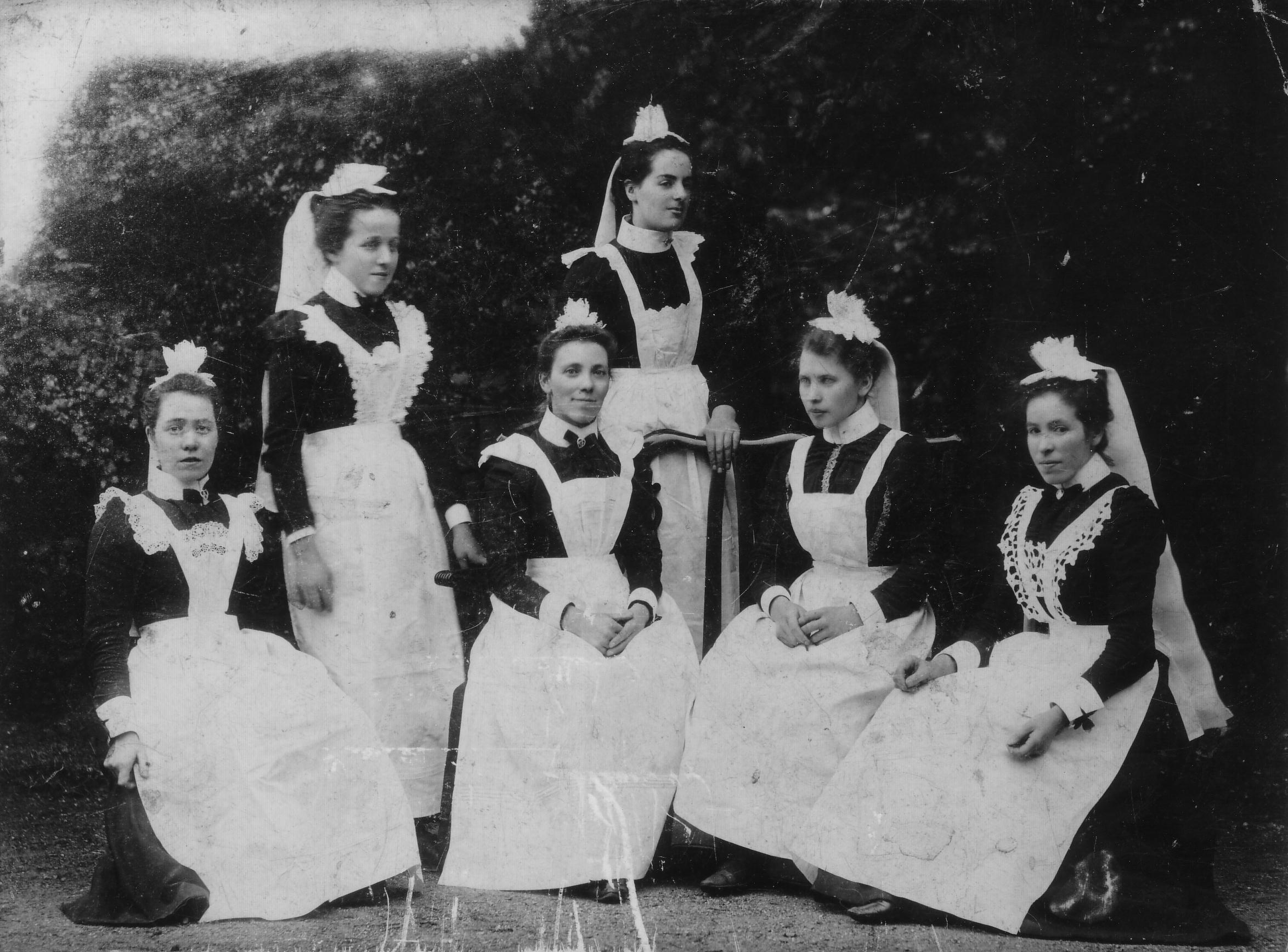 House Servants 1900s