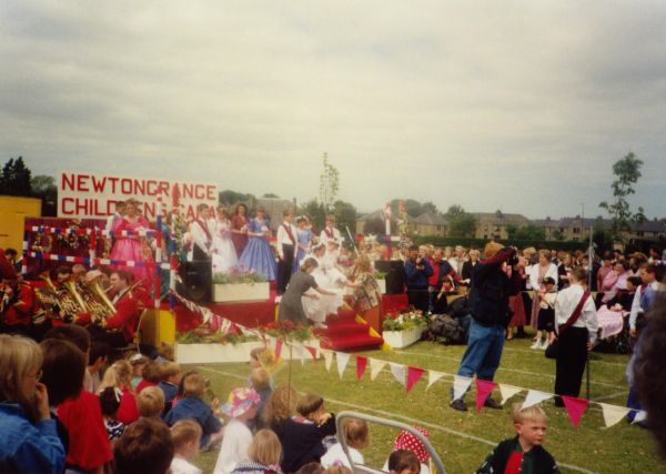 Crowning Of The Newtongrange Gala Queen c.1988