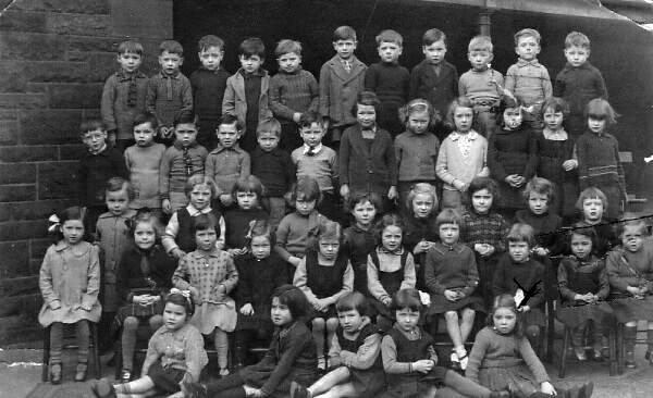 Abbeyhill School Class Portrait 1938