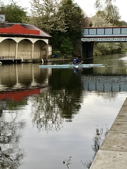 Union Canal Boathouse at Harrison Park
