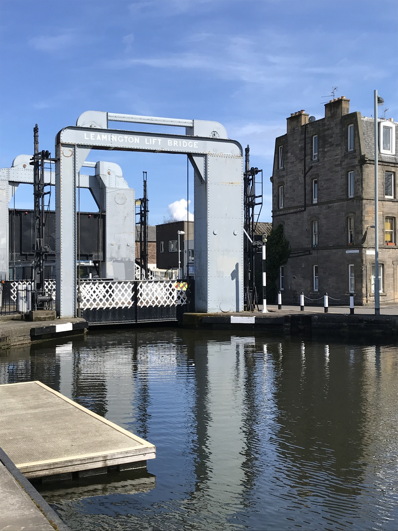 Leamington Lift Bridge, Union Canal, Lochrin Basin