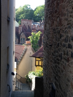 Dean Village view