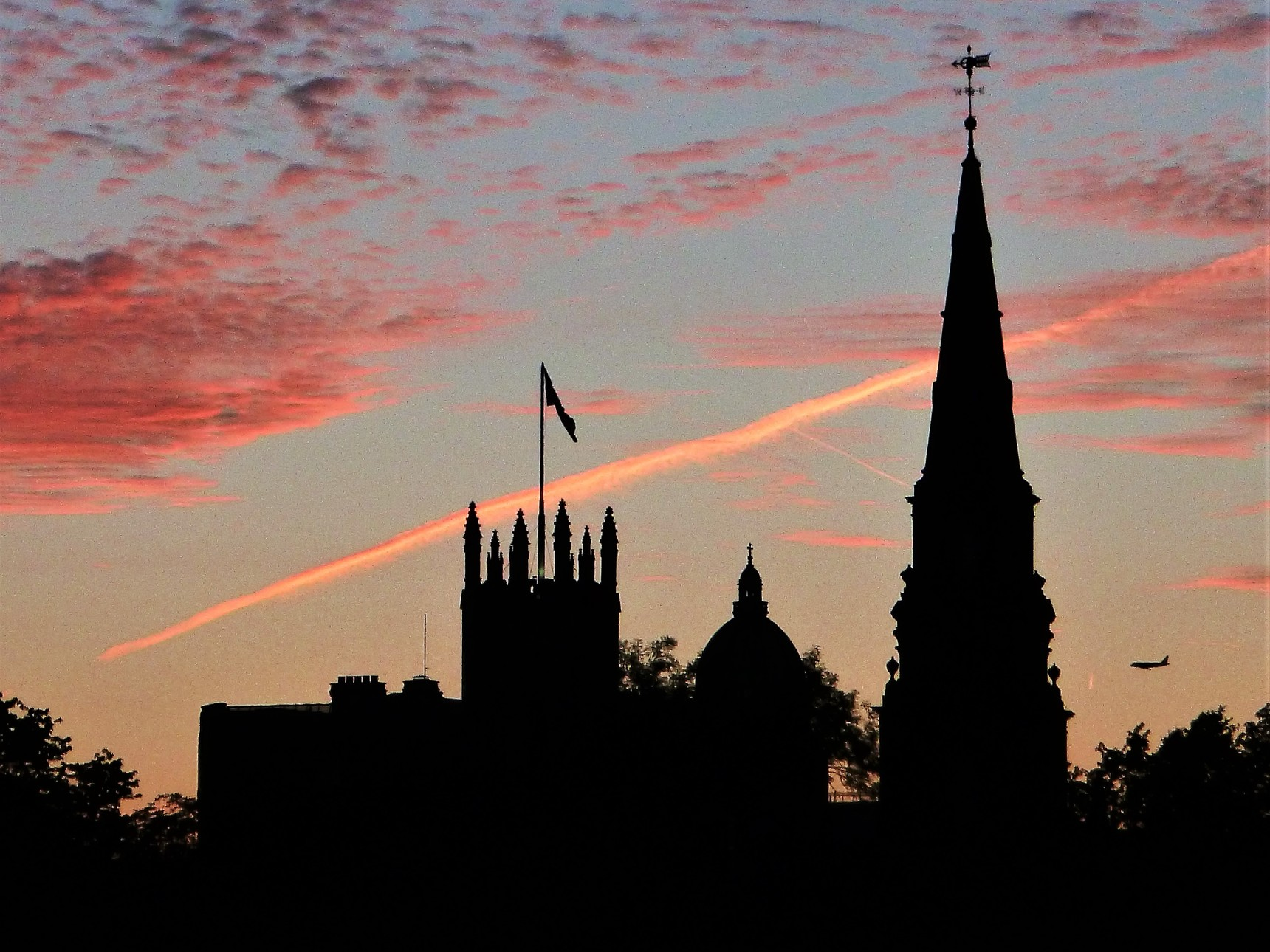 West End Silhouettes at Sundown