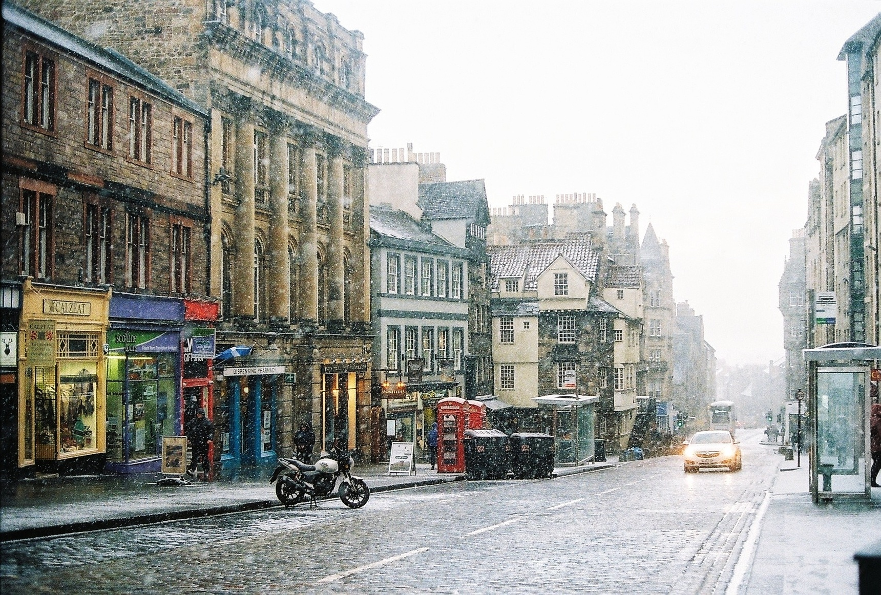 Snowstorm on the Mile