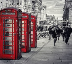 Royal Mile Phoneboxes