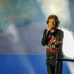 Mick Jagger at Murrayfield