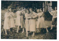 St Michael's Church Club Outing To Peebleshire 1923