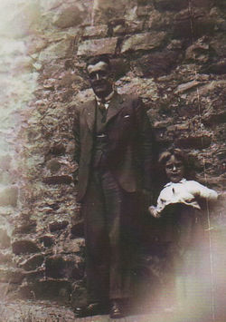 This is my Mother's Brother Johnnie Boswell with his Grandaughter Margaret Boswell.