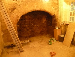 16th Century Fireplace discovered