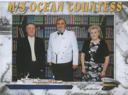 Photo taken on Board the M / S OCEAN COUNTESS.