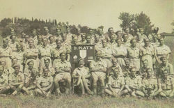 My Dad's Army Battalion. My Dad is in the back row 5th from the left.