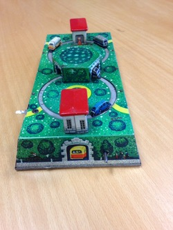 Tinplate clockwork toy