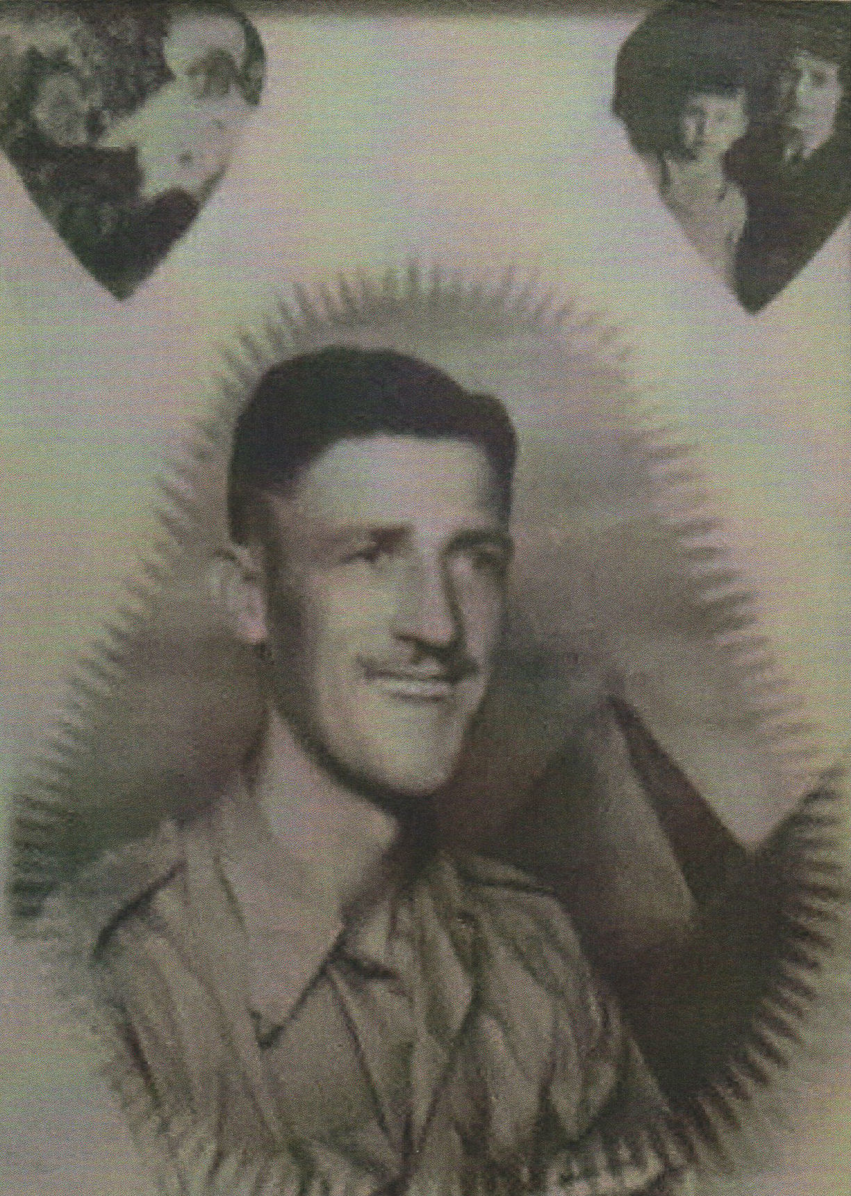 This photo is of my Dad was sent to him by my Mother when he was in the Middle East.