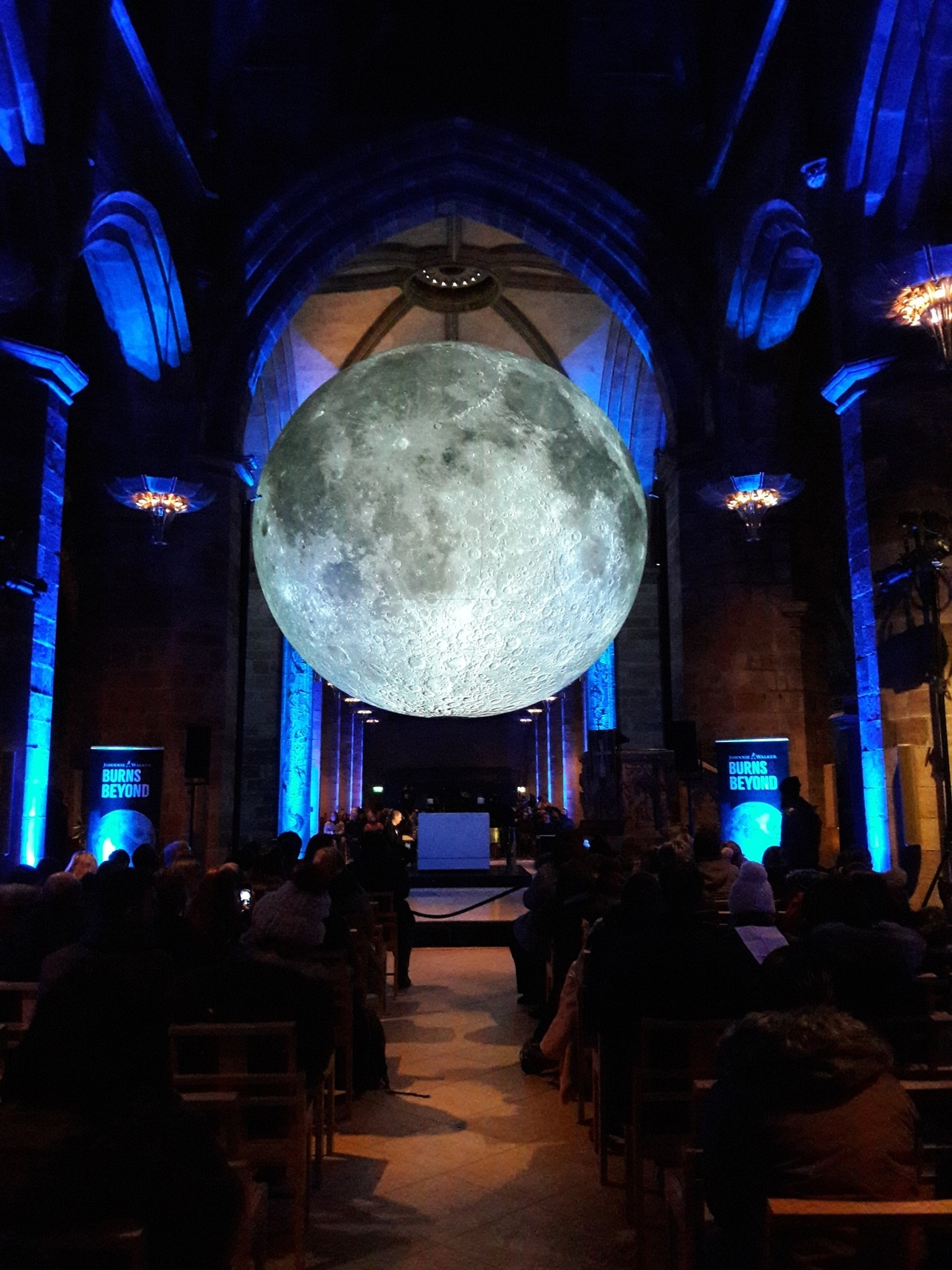 Museum of the Moon, St Giles Cathedral