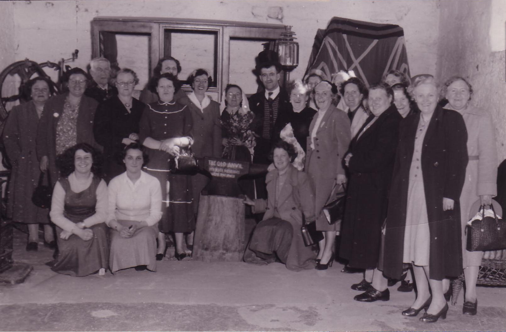 A Marriage (?) 'Over The Anvil' At Gretna Green 1940s