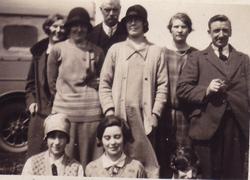 Craigentinny Castle Club Day Trippers 1934