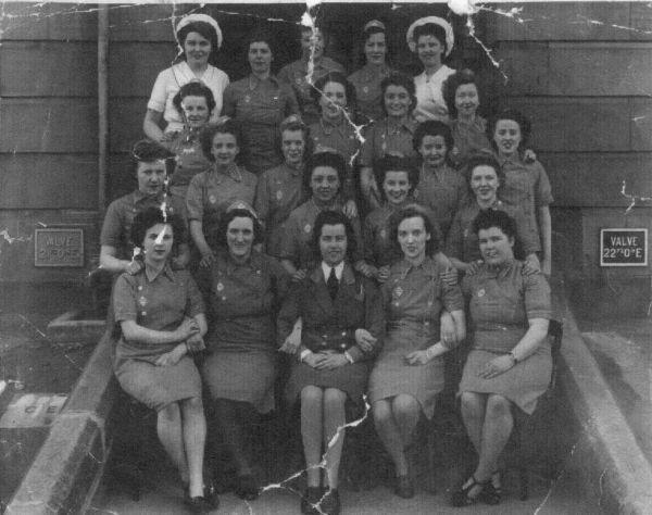 Female Staff At Redford Barracks c.1945