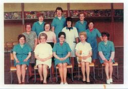 Dinner Ladies Silverknowes Primary School 1970s