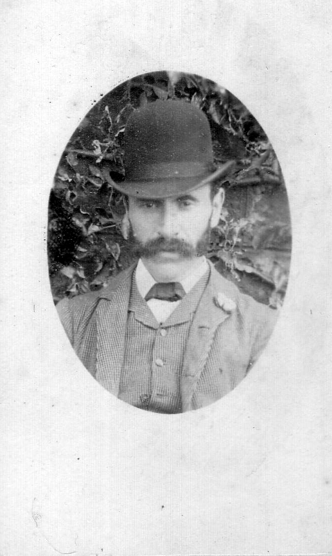 Portrait Victorian Gentleman 1880s