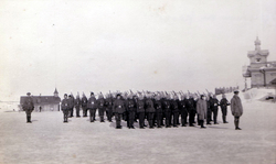 Russian Soldiers On Parade c.1916
