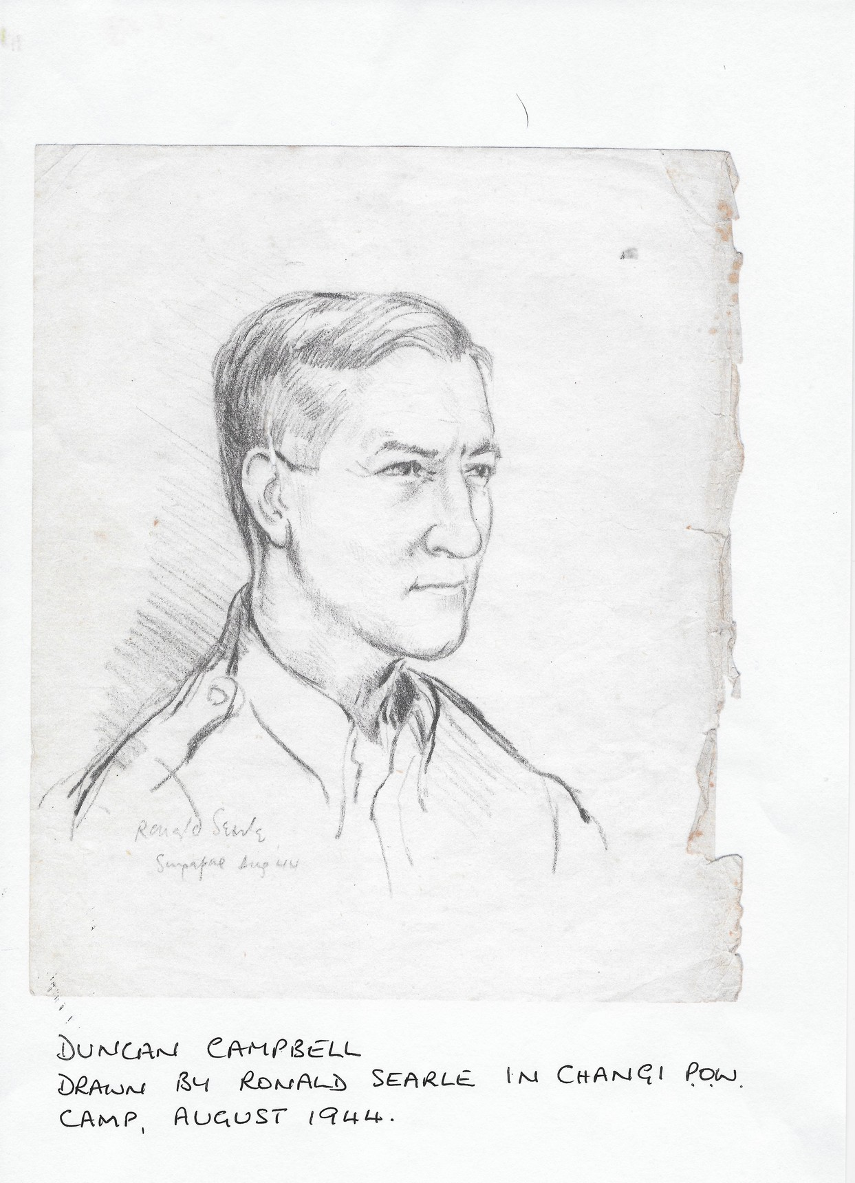 Duncan Campbell, Anne Shaw's father