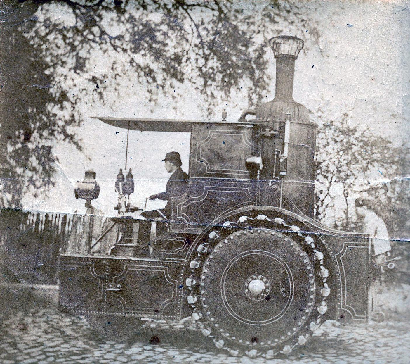 Steam Tractor c.1870