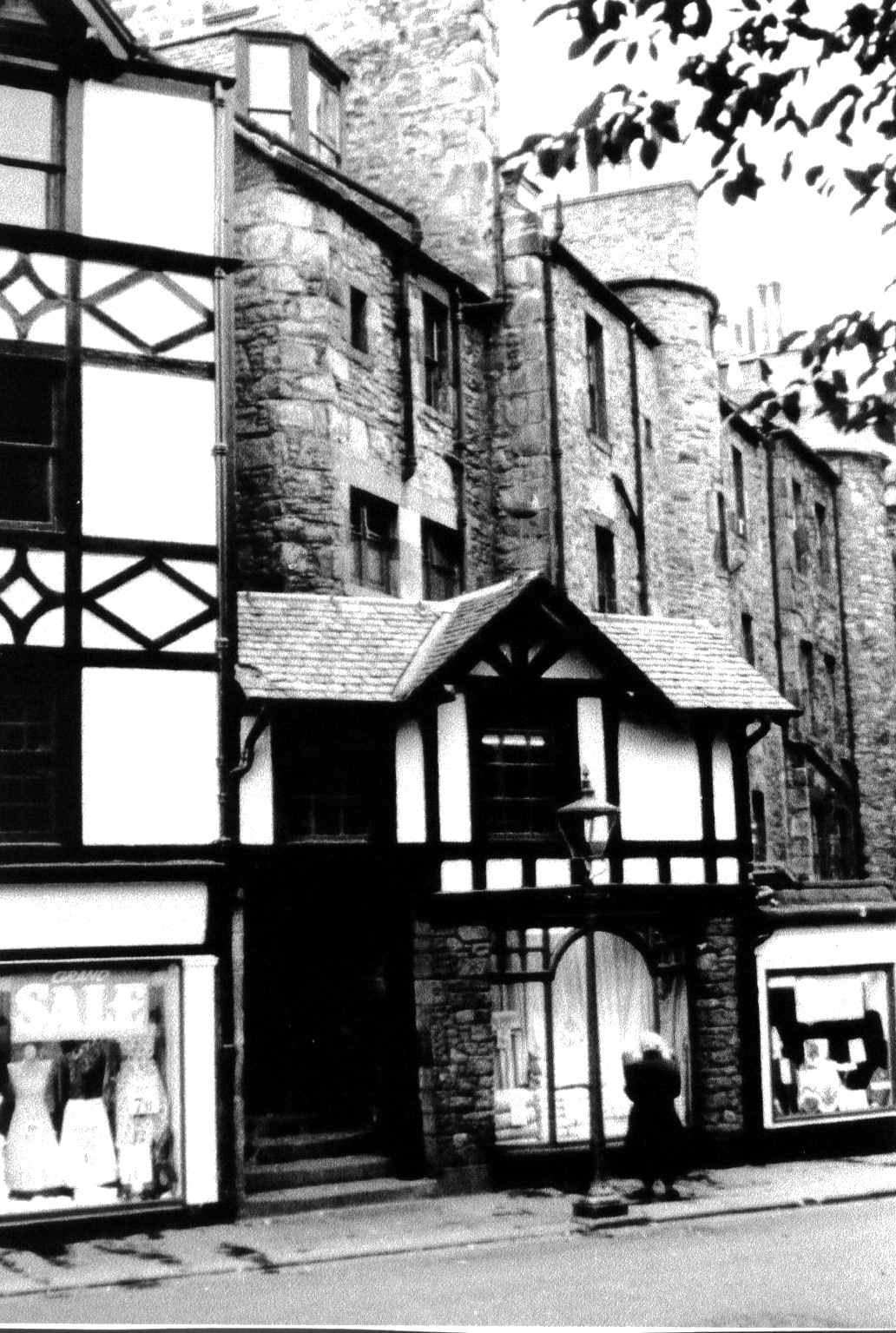 Parkers Store On Bristo Street, October 1957