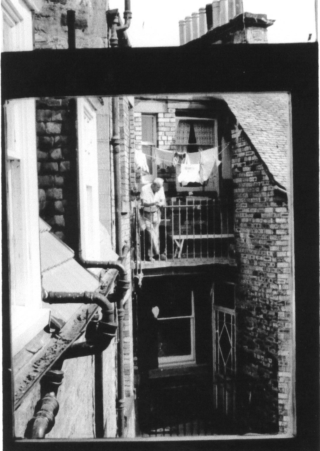 View From Tenement Window In Grange Court, Causewayside 1950s